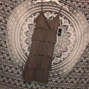 🍂I•N•C🍂 Adorable Ruffled/Layered Dress! NWT!💞🌸
